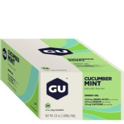 GU Energy Gel,  24 Piece(s)/Pack  Cucumber Mint