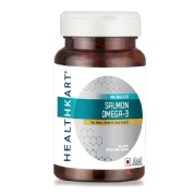 HealthKart Salmon Omega-3,  60 capsules