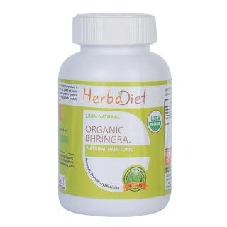 Herbadiet Organic Bhringraj,  60 capsules