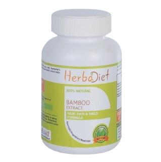 Herbadiet Bamboo Extract,  60 capsules