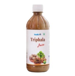 Healthvit Triphala Juice,  Natural  0.5 L