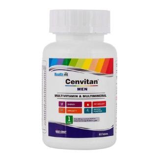 Healthvit Cenvitan Men,  60 tablet(s)  Unflavoured