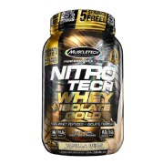 MuscleTech Nitrotech Whey Plus Isolate Gold,  2 lb  Vanilla Bean
