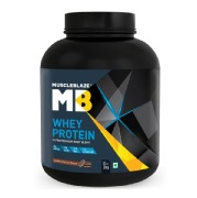 MuscleBlaze Whey Protein,  4.4 lb  Cookies and Cream