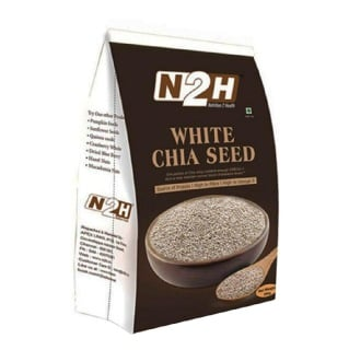N2H White Chia Seed,  0.2 kg  Unflavoured