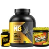 MuscleBlaze Whey Gold & Fish Oil & BCAA 6000 Combo