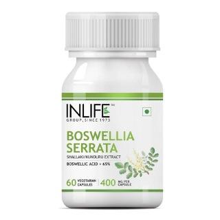 INLIFE Boswellia Serrata Extract 400 mg,  60 capsules