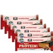 Hyp Protein Bar,  6 Piece(s)/Pack  Almond Fudge