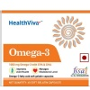 HealthViva Omega 3 Supplement - Pack of 4