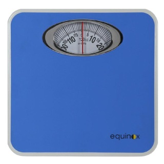 Equinox Personal Weighing Scale Mechanical (EQ BR 9015),  Blue