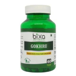 Bixa Botanical Gokhru,  60 capsules