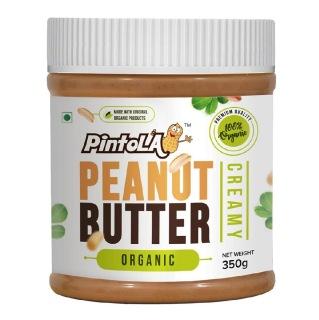 Pintola Organic Peanut Butter,  Creamy  0.350 kg