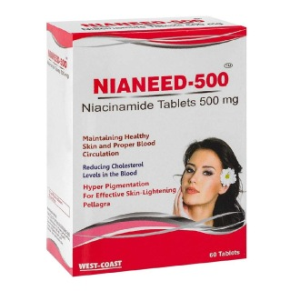 West Coast Nianeed-500,  Unflavoured  60 tablet(s)