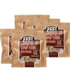 Feel Mighty Low Carb Brownie Pack of 5,  5 Piece(s)/Pack  Chocolate Walnut