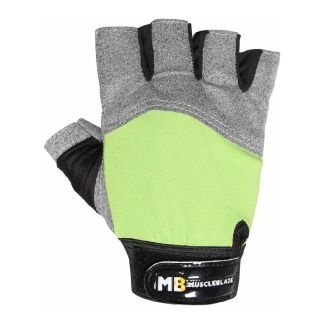 MuscleBlaze Gloves Lycra,  Grey Green  Free Size