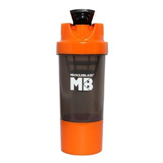 MuscleBlaze Cyclone,  Orange  600 ml