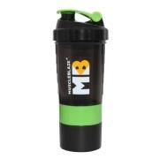 MuscleBlaze Hulk Shaker, Green Black 500 ml