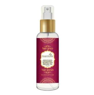 Simply Herbal Organic Moraccan Argan Oil,  50 ml  for All Hair Types