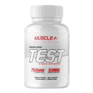 Muscle Plus Essential Series Test,  60 tablet(s)  Unflavoured