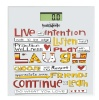Healthgenie Digital Weighing Scale (HD 221),  Live with Intension (White)