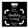 Healthgenie Digital Weighing Scale (HD 221),  Healthy Living Black