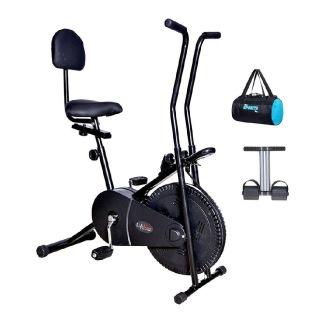 Lifeline Exercise Cycle 102 with Back Seat, Bonus Gym Bag & Tummy Trimmer