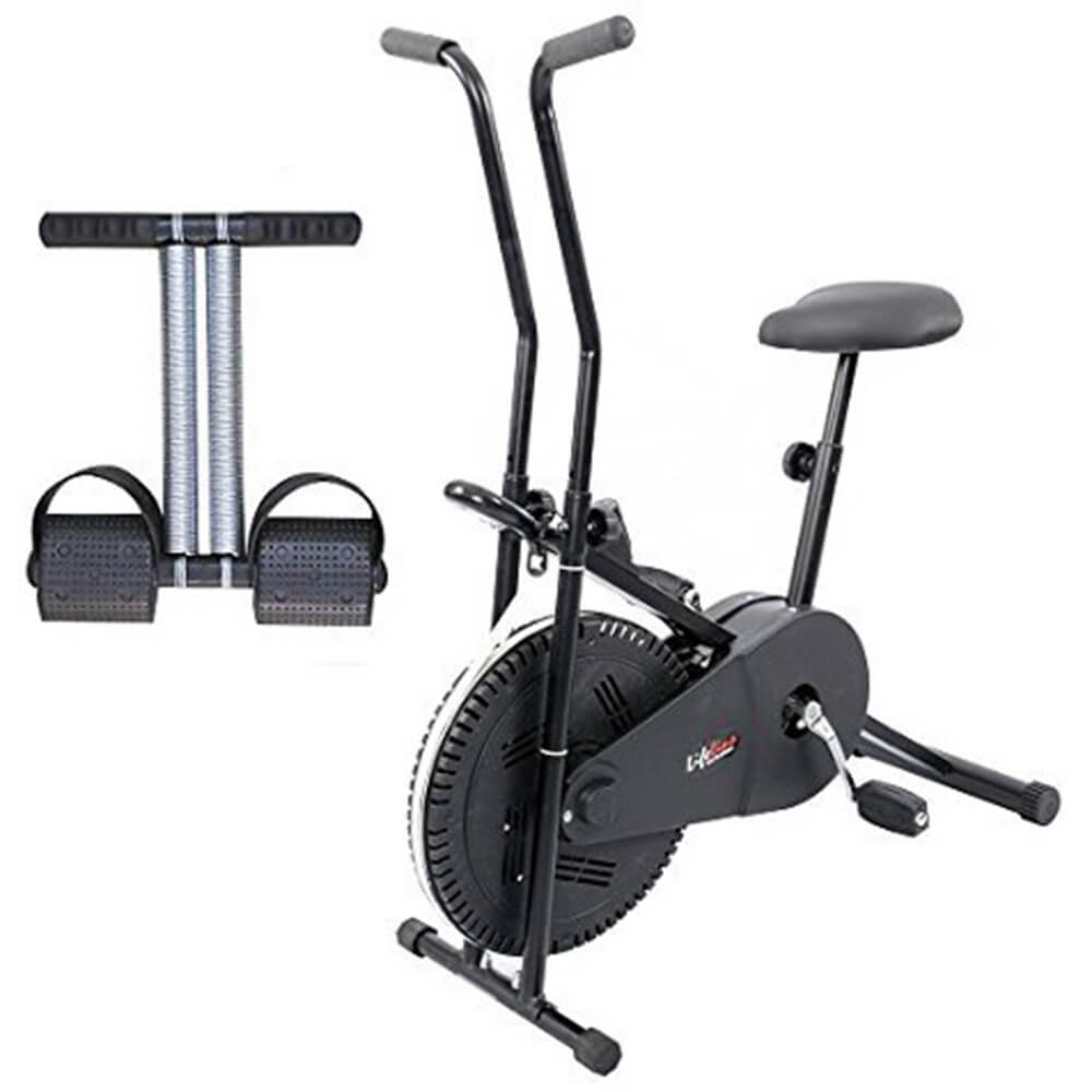 Lifeline home gym set combo exercise air bike online in india