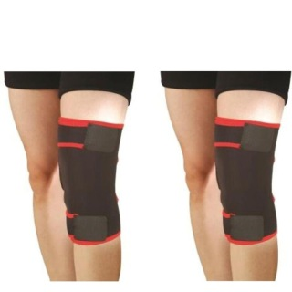 B Fit USA Knee Support (2004),  Black  Free Size