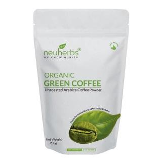 Neuherbs Organic Green Coffee Beans Powder,  0.2 kg