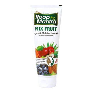 Roop Mantra Mix Fruit Face Wash,  115 ml  for All Skin Types