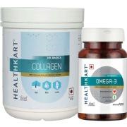 HealthKart Collagen & Omega 3 Combo
