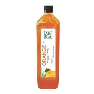 AloFrut Orange Aloevera Juice,  1 L  Orange