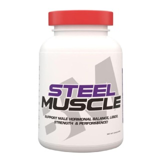 Big Muscles Steel Muscle,  120 capsules  Unflavoured