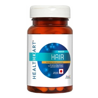 1 - HealthKart Hair with Biotin and 21 Essential Nutrients,  90 capsules  Unflavoured