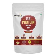 Healthfit Raw Whey Protein Isolate 90%,  4 lb  Unflavoured