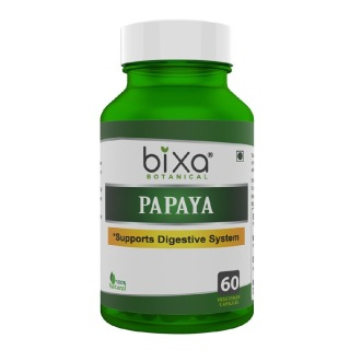 Bixa Botanical Papaya,  60 capsules