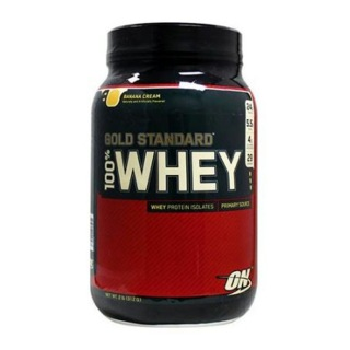 ON (Optimum Nutrition) Gold Standard 100% Whey Protein,  Banana & Cream  2 Lb