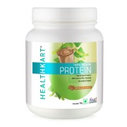 1 - HealthKart All Plant Protein (50%) Vegan & Lactose Free,  1 kg  Cafe Mocha