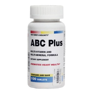 Nature's Bounty ABC Plus,  Unflavoured  100 tablet(s)
