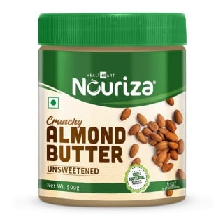 Nouriza Almond Butter,  Crunchy  0.5 kg
