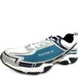 Vector X RS-5012 Jogging Shoe,  White/Sky Blue  6