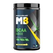 MuscleBlaze BCAA 6000, 0.88 lb Tangy Lemon Lime