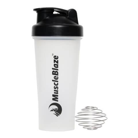 MuscleBlaze Shaker,  White  600 ml