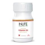 INLIFE Vitamin D3 (2000 IU),  60 capsules