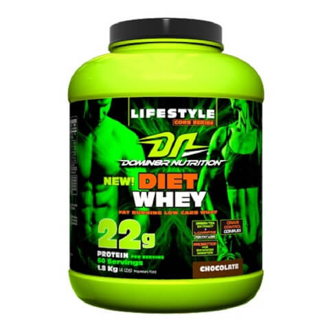 Domin8r Nutrition Diet Whey,  4 lb  Chocolate