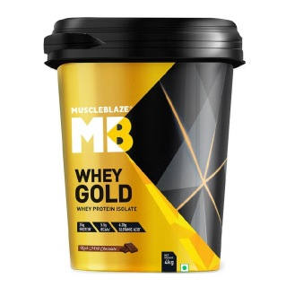 MuscleBlaze Whey Gold with Digezyme,  8.8 lb  Rich Milk Chocolate