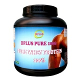 Dplus Pure Whey Protein,  Unflavor  2.2 Lb