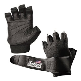 Schiek Womens Gel Lifting Gloves,  Black  Medium
