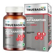 TrueBasics Astaxanthin with 4mg AstaReal,  60 capsules