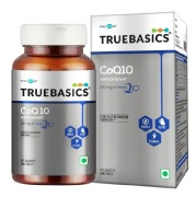 TrueBasics CoQ 10 AntiOxidant with 120mg of Kaneka Q10,  60 tablet(s)
